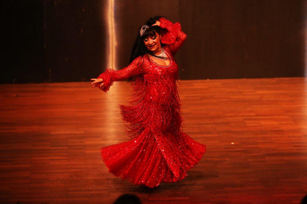 Mojgan - Klassisch-orientalischer Tanz - Foto Tony Maher