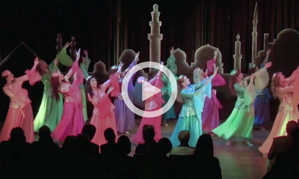 Gruppe Mojgan – »Wüstenrose« – Persischer Tanz