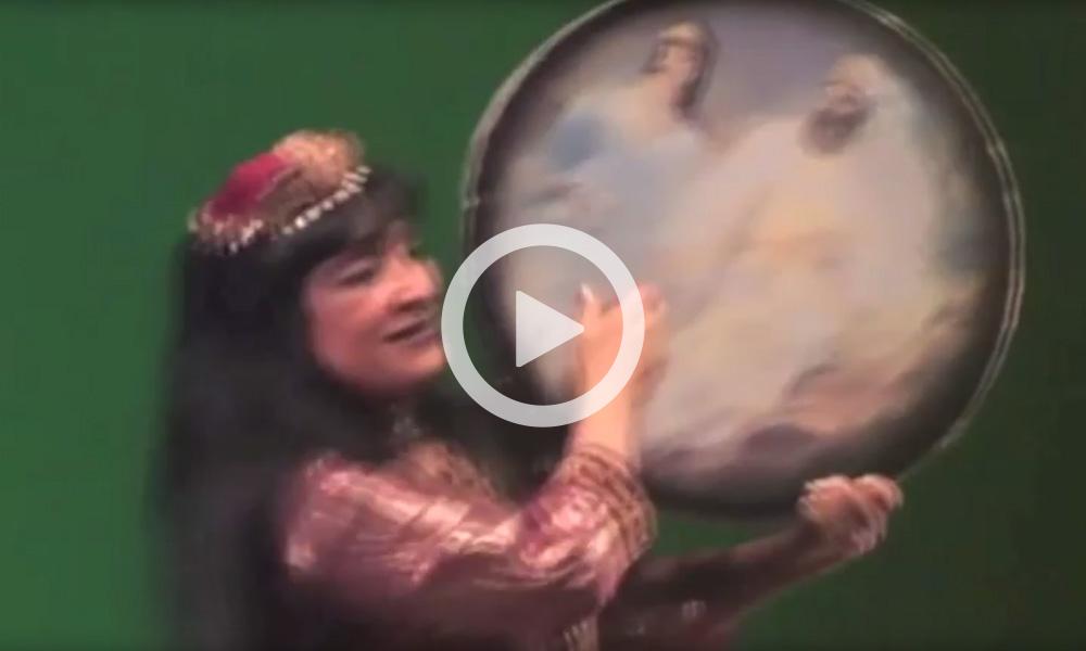 Mojgan – Altpersischer Tanz mit Daf