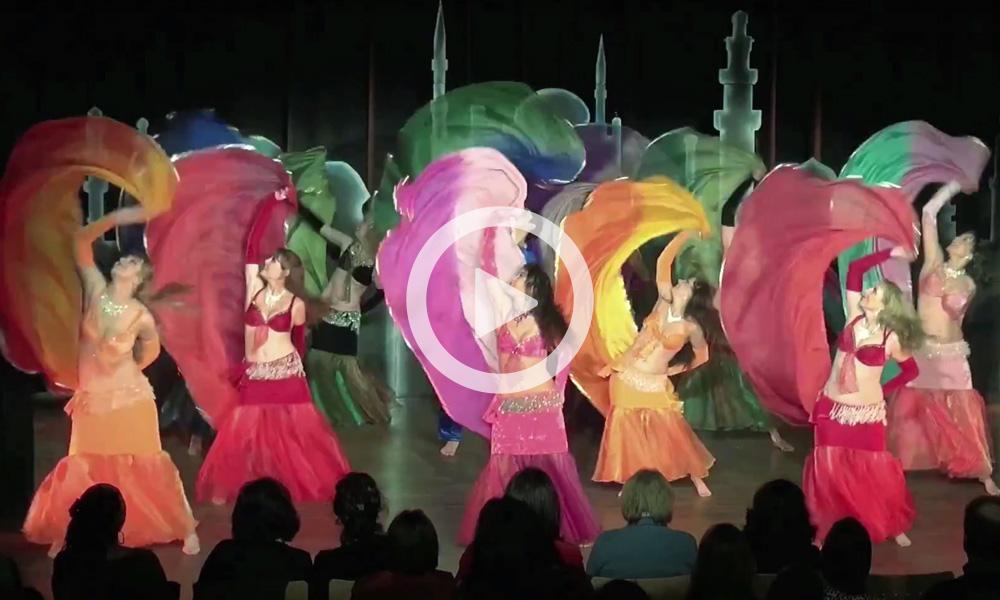 Gruppe Mojgan – Schleier-Trommeltanz